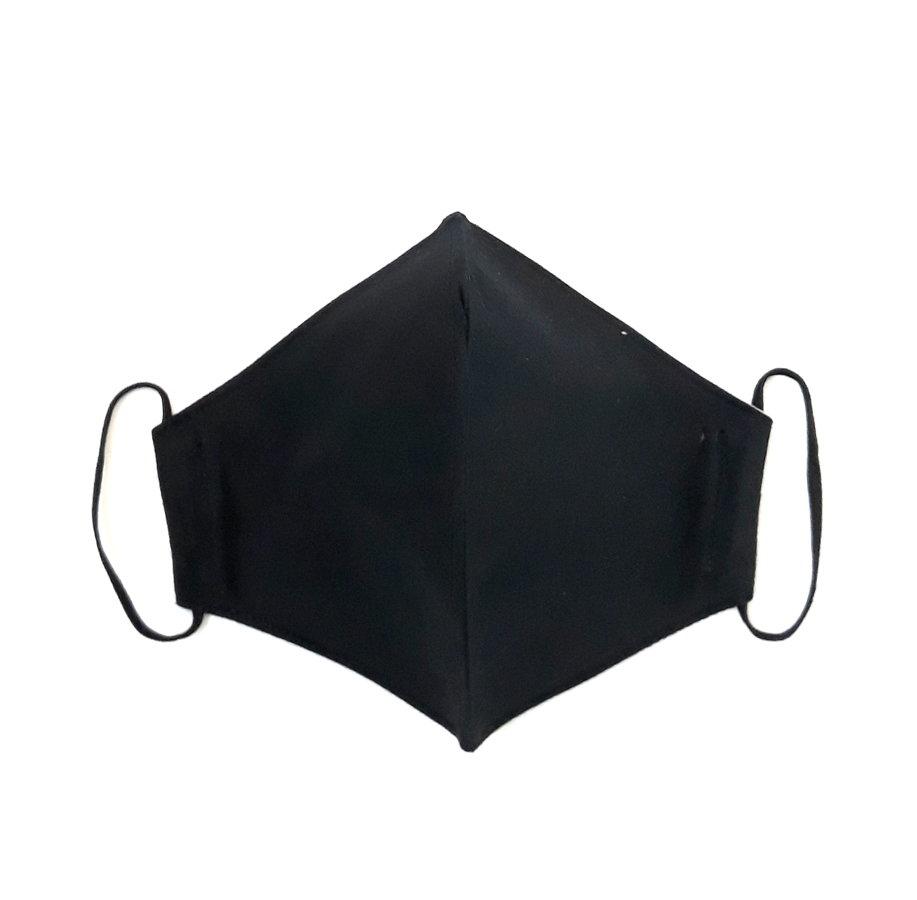 Dvisluoksnė kaukė L dydžio (juoda)