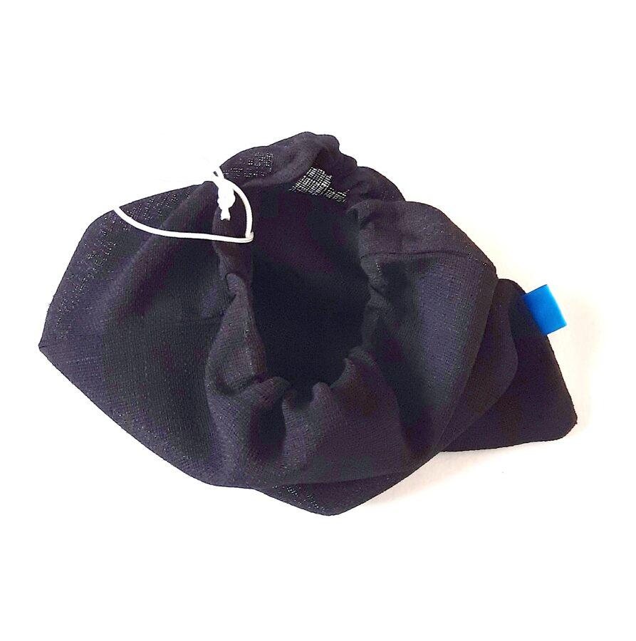 Juodas ne visai didelis maišelis