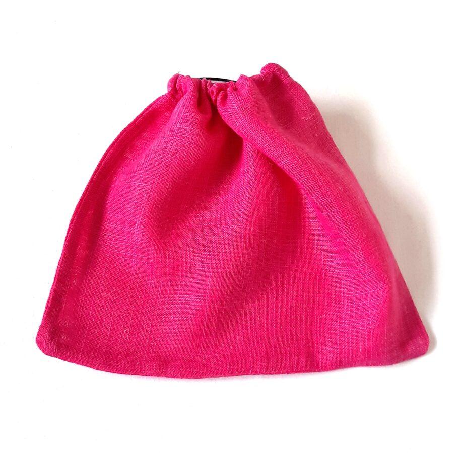 Nedidelis alyvinis medvilninis maišelis