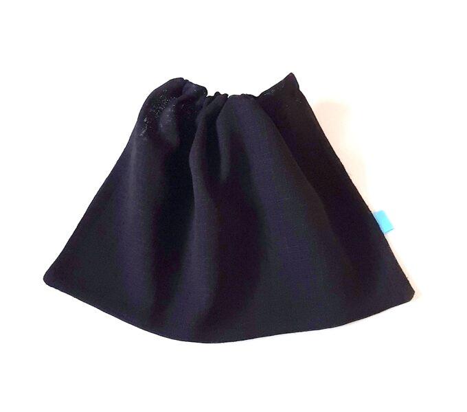 Nedidelis juodas maišelis